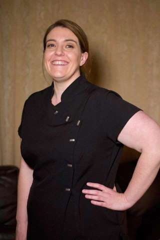 Massage therapist Anna, at Relax Therapies Wirral.