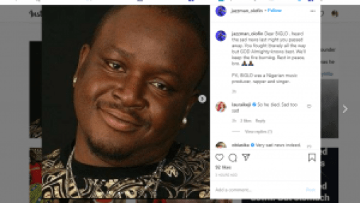 Biglo, Biglo, Veteran Nigerian Rapper, Has Passed On After A Long Illness, Relay Vibes