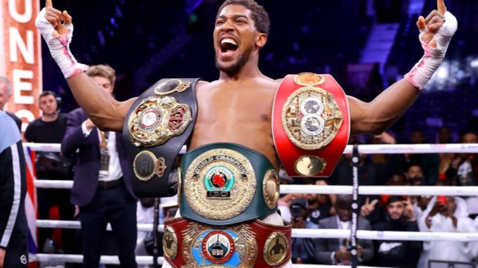 Anthony Joshua denied reports he wasn't allowed to represent Nigeria