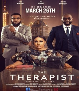 """Nollywood Drama """"The Therapist"""" To Debut March 26th"""