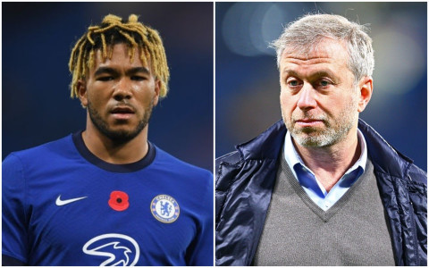 Chelsea owner Roman Abramovich writes letter of support to his player Reece James
