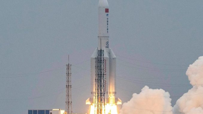 Out-of-Control China Rocket Finally Lands In Indian Ocean, Out-of-Control China Rocket Finally Lands In Indian Ocean, Relay Vibes