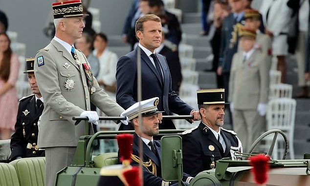 'Civil war is brewing', 'Civil war is brewing': Serving French soldiers send Macron Another Warning Letter, Relay Vibes