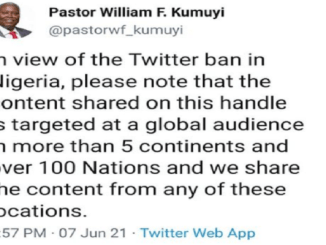 Pastor Kumuyi issues disclaimer about tweeting despite Twitter ban, Pastor Kumuyi issues disclaimer about tweeting despite Twitter ban, Relay Vibes