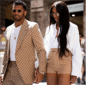 Ciara and Russell Wilson rock stylish Gucci ensembles, Ciara and Russell Wilson rock stylish Gucci ensembles, Relay Vibes