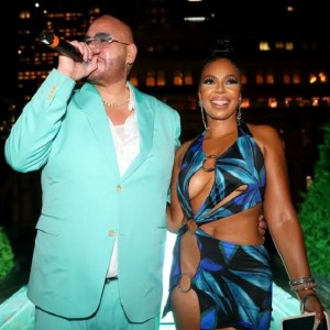 Ashanti leaves little to the imagination as she attends Fat Joe's party, Ashanti leaves little to the imagination as she attends Fat Joe's party, Relay Vibes
