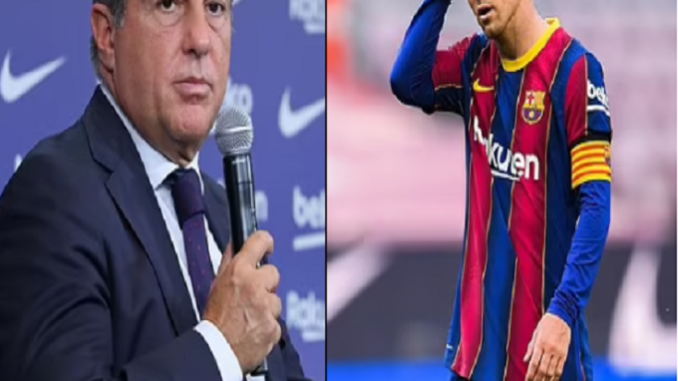 Joan Laporta wanted Messi to play for free