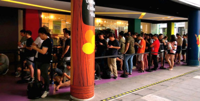 More Than 150 Customers in Line for the Launch of HUAWEI FreeBuds 3 - Brand Spur