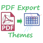 Gallup PDF report export themes spreadsheet