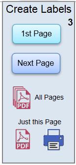 Create PDF Lanyard Labels