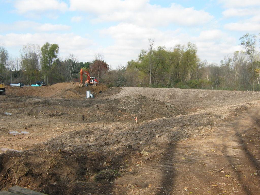 Green Bay Botanical Garden Dredging and Dam Reconstruction - Robert ...