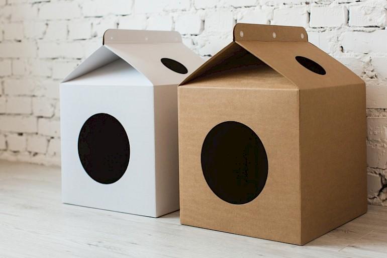 Enkelt hus til killing ud af boksen