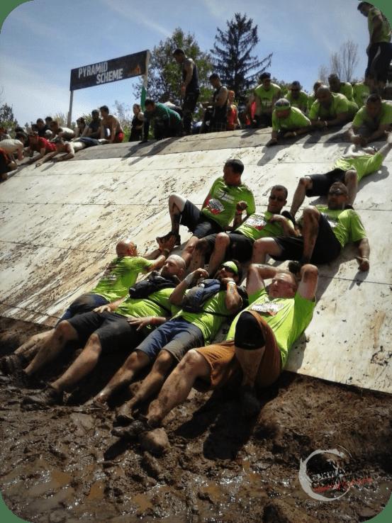 Tough Mudder Pyramid Scheme