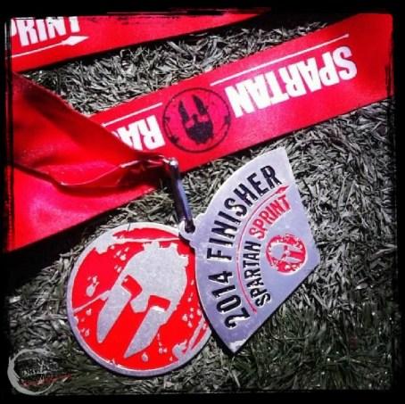 Boston SPartan Sprint Medal