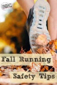 Fall Running Safety Tips