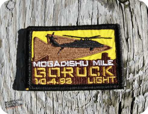 GORUCK Mogadishu Mile Light patch