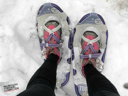 Snowshoeing for runners
