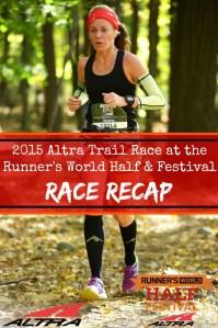 Runner's World / Altra Trail Run 2015 Race Recap