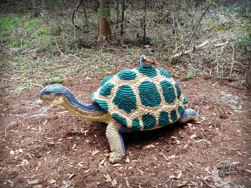 Brookgreen gardens lego tortoise