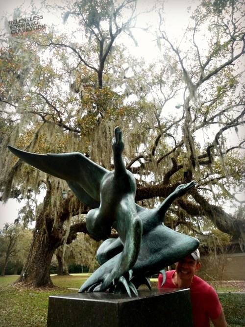 Geese Brookgreen Gardens