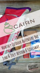 Cairn Box Review – June, July, & a Giveaway