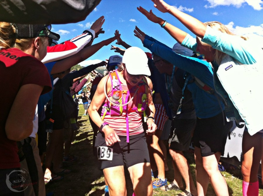 Finishers chute day 3
