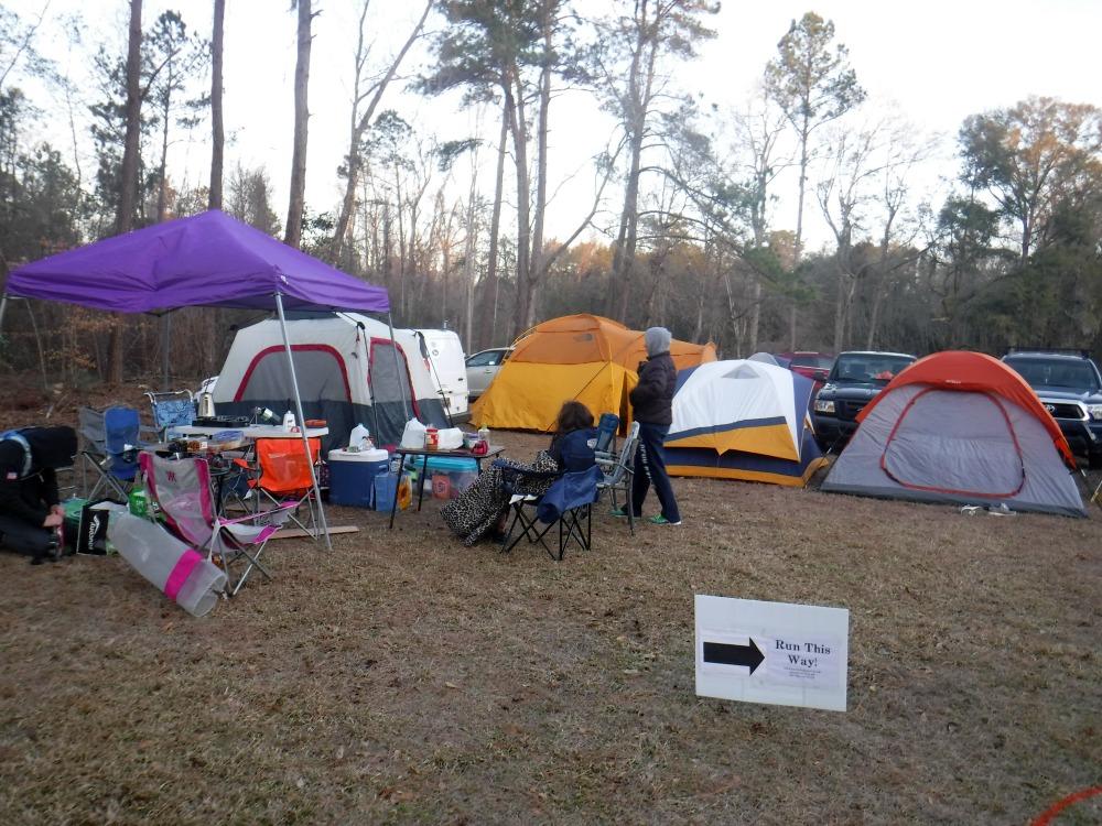 Hallucination camp site