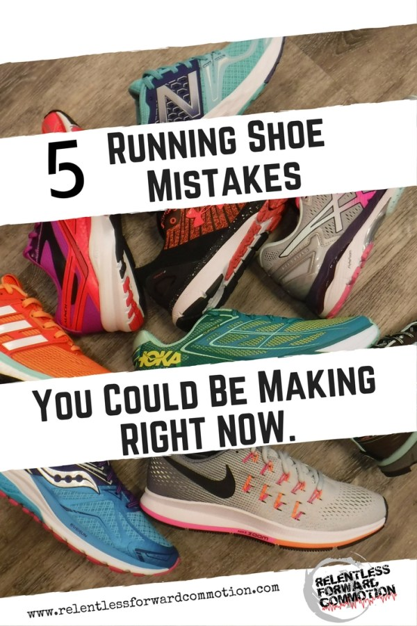Common Running Shoe Mistakes