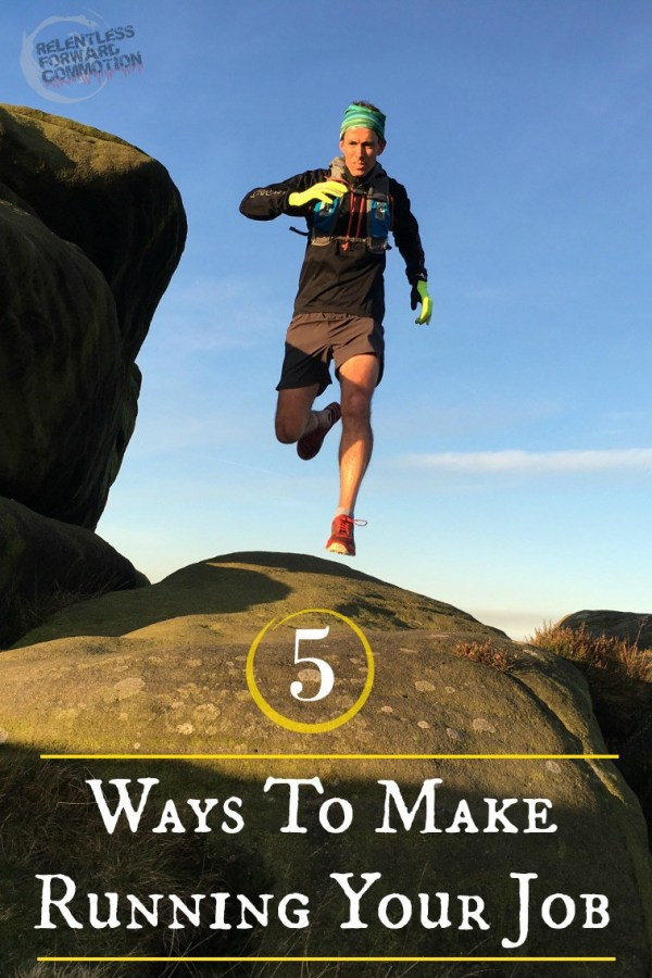 5 Ways to Make Running Your Job (or at least a part time gig)