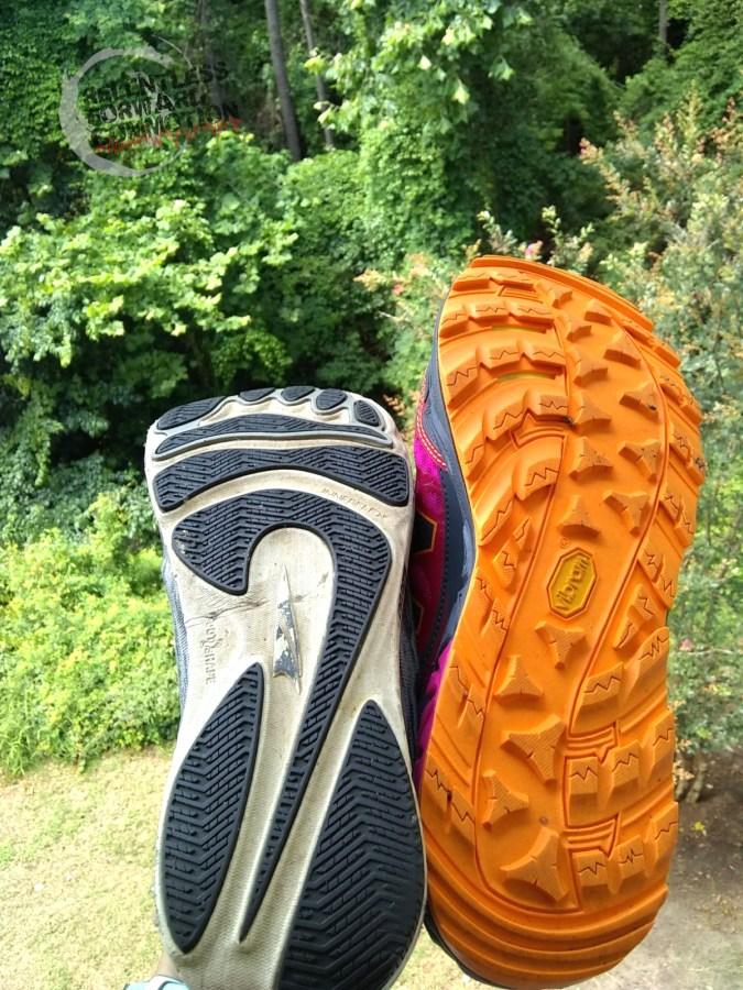 Trail Running Shoe vs. Road Running Shoe