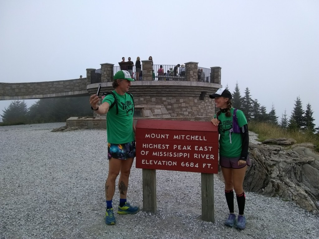 Summit Mount Mitchell