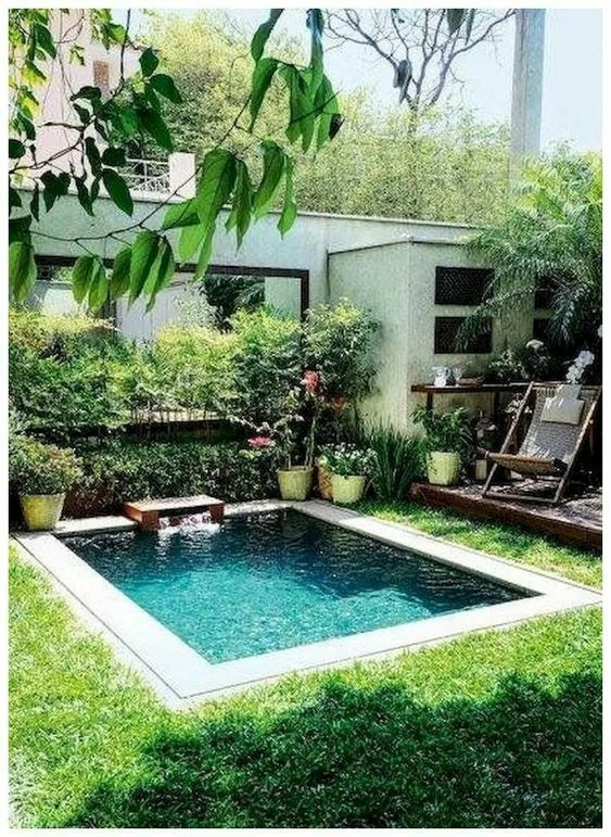 30 Small Pool Backyard Ideas And Tips on A Budget ... on Pool Patio Ideas On A Budget id=55349