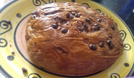 Italian chocolate chip bread