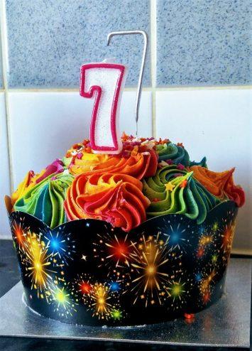 Eva's 7th birthday cake
