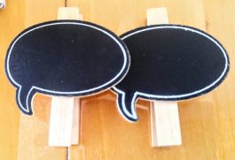Speech Bubble Bookmarks