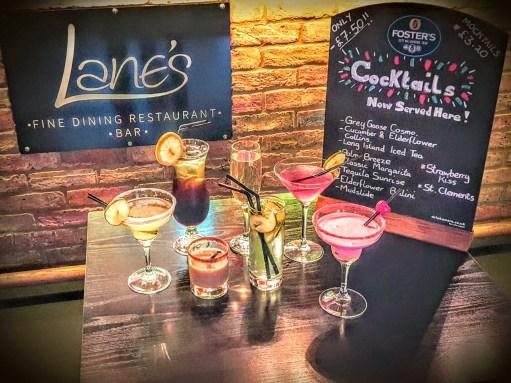 Cocktail nights at lanes