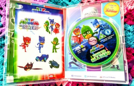 PJ Masks - Time To Be A Hero DVD & Stickers