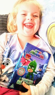 Izzy loves PJ Masks - Time To Be A Hero
