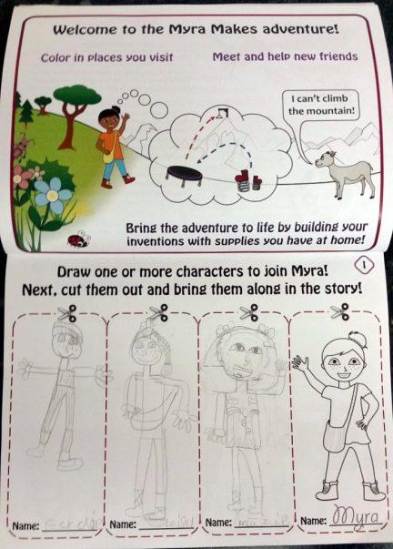 Character Drawing Activity