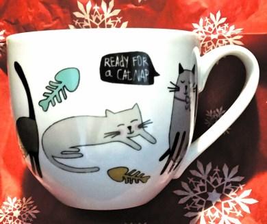 Ready for a cat nap mug