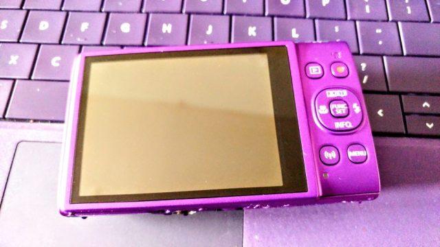 Purple Canon Ixus 285HS