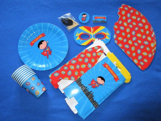 Personalised Superhero Party Pack