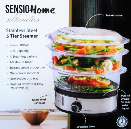 Sensio Home Steamer Review