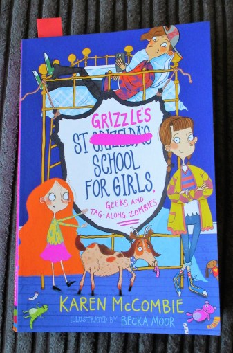 St Grizzle's school for girls, geeks and tag-along zombies