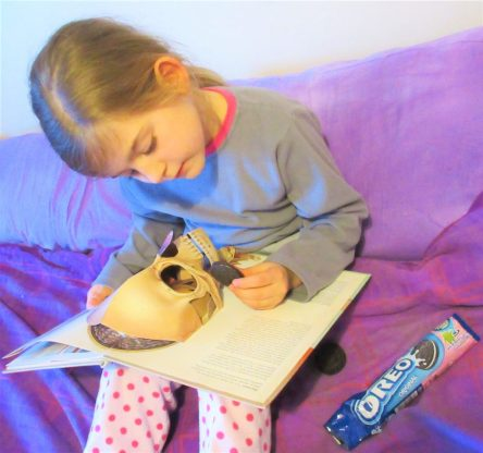 Reading with Oreos