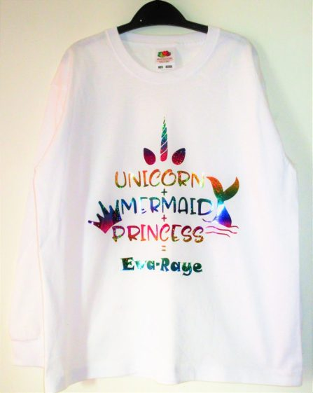 Unicorn + Mermaid + Princess Top