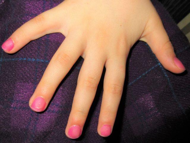 Pink Nail Varnish