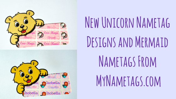New Unicorn Nametag Deisgns & Mermaid Nametags from MyNametags.com