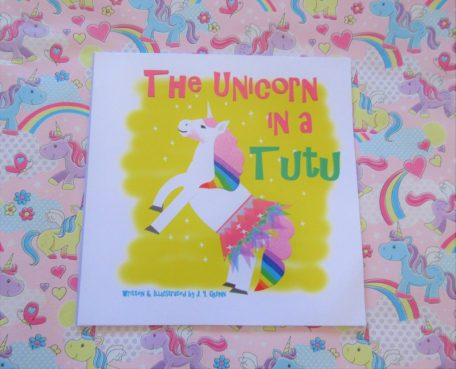 The unicorn in a tutu