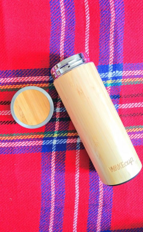 WAKEcup - Sustainable bamboo water bottle